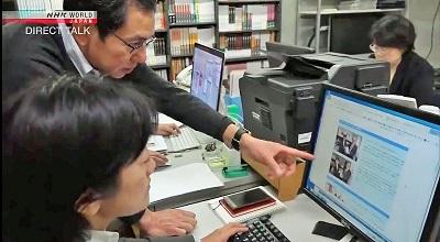 NHK 「Direct Talk」_2