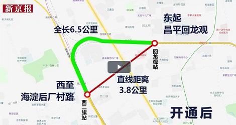 北京初の自転車専用道路1