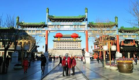 北京の前門大街