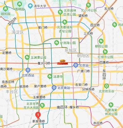 「新発地」市場 map