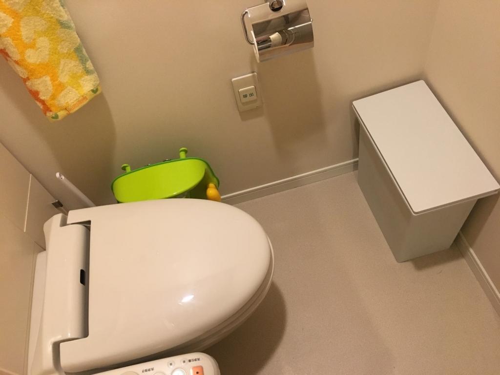 お掃除後のトイレ