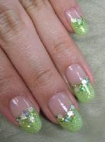ライトグリーンネイル