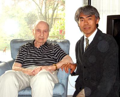 カナダ ブリティッシュ・コロンビア州 ビクトリア ホッファーDr自宅にて [2008/04/29]