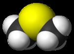ジメチルサルファイド3Dモデル