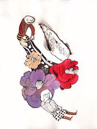 ボヌトムと花