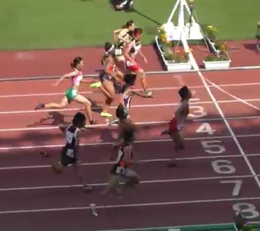 陸上競技女子100メートルの吉野史織