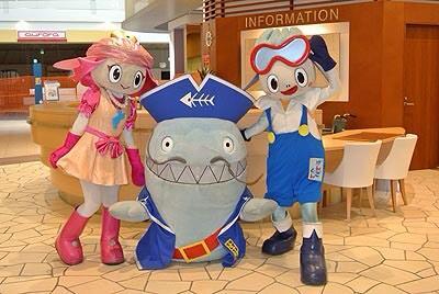 ナズマ船長とアユちゃん