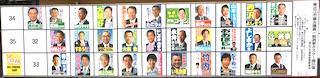 東近江市議会議員一般選挙の候補者の氏名(名前)