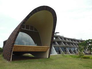 セトレマリーナびわ湖は素敵な外観のホテル