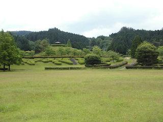 道の駅こんぜの里りっとうに隣接する滋賀日産リーフの森