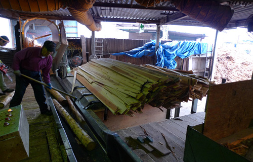 檜材の有効利用