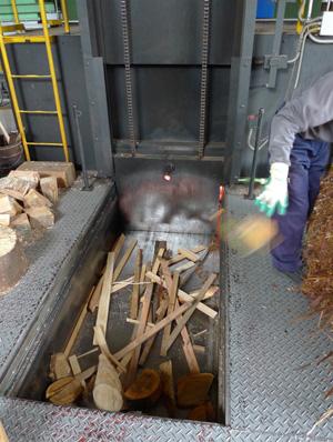 木材がエネルギーに