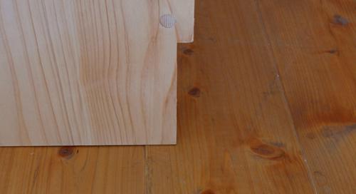 巾木用の欠き