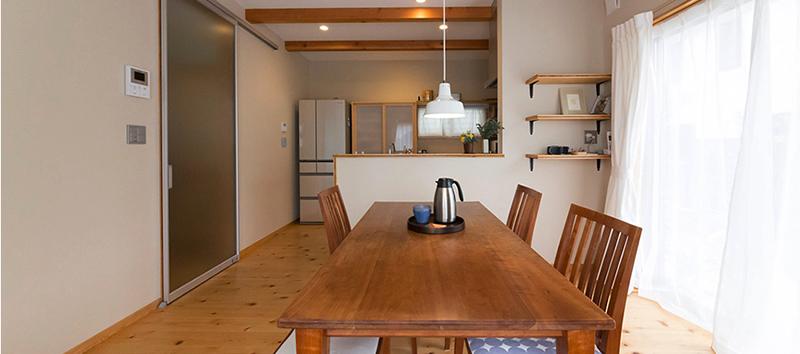 ひのき無垢 自然素材の家1