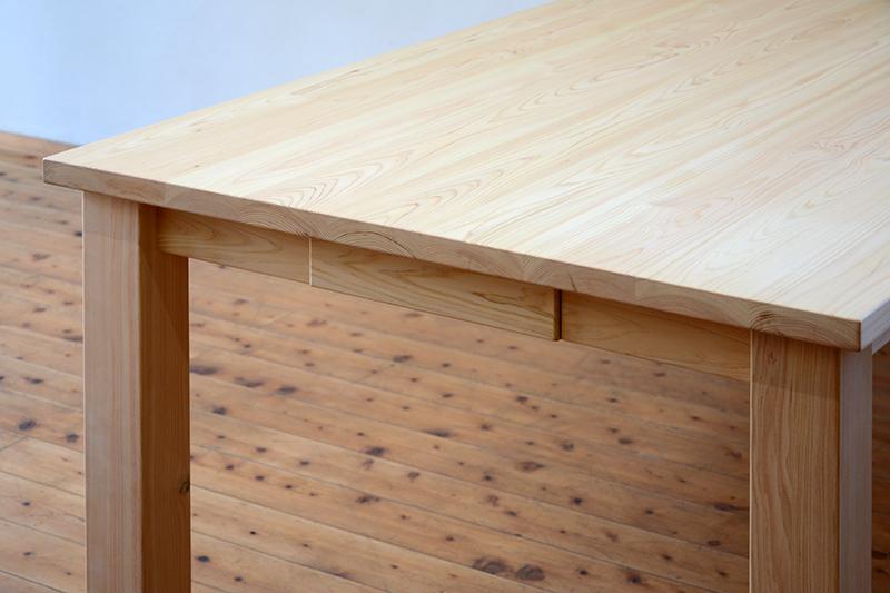 ひのき無垢 ダイニングテーブル3