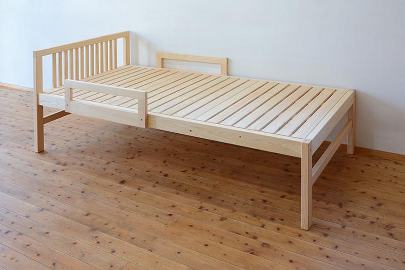 ひのき無垢 シングルベッド4