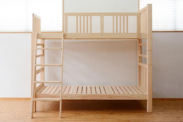 ひのき無垢 シングルベッド8