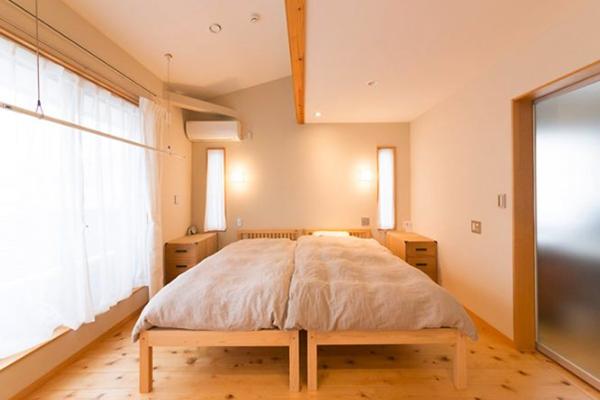 ひのき無垢 シングルベッド7