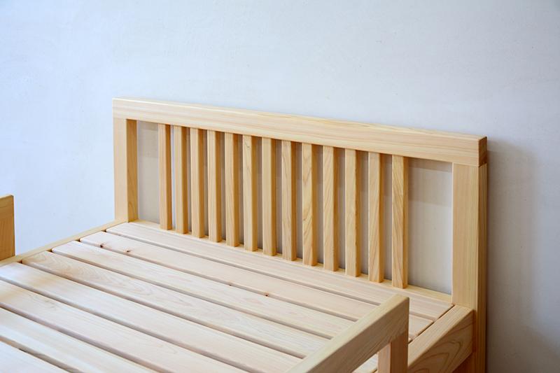 檜無垢 シングルベッド4