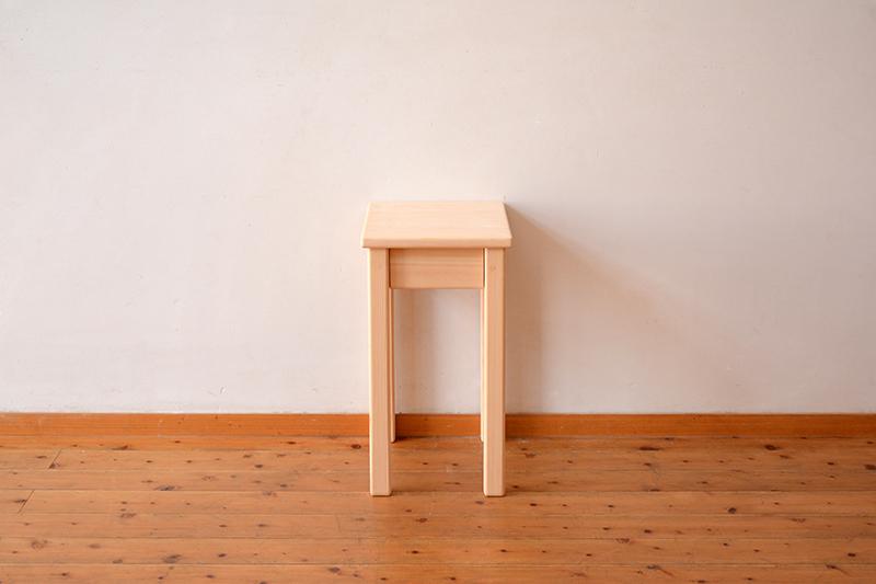 ひのき無垢 ナイトテーブル