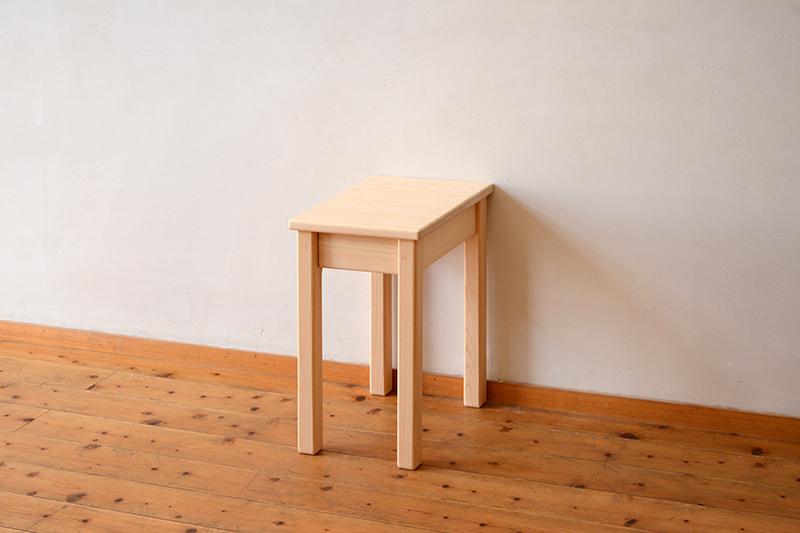 ひのき無垢 ナイトテーブル3