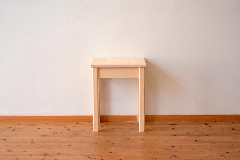 ひのき無垢 ナイトテーブル1