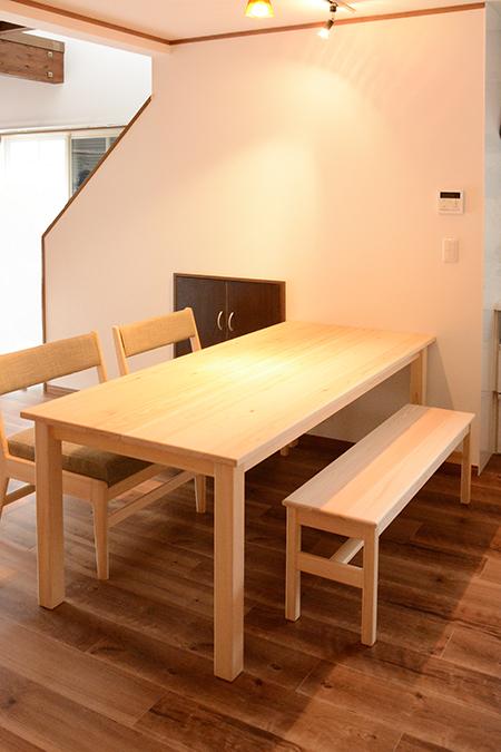 テーブル 納品2