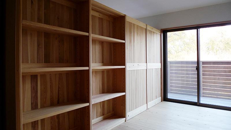 杉の本棚1