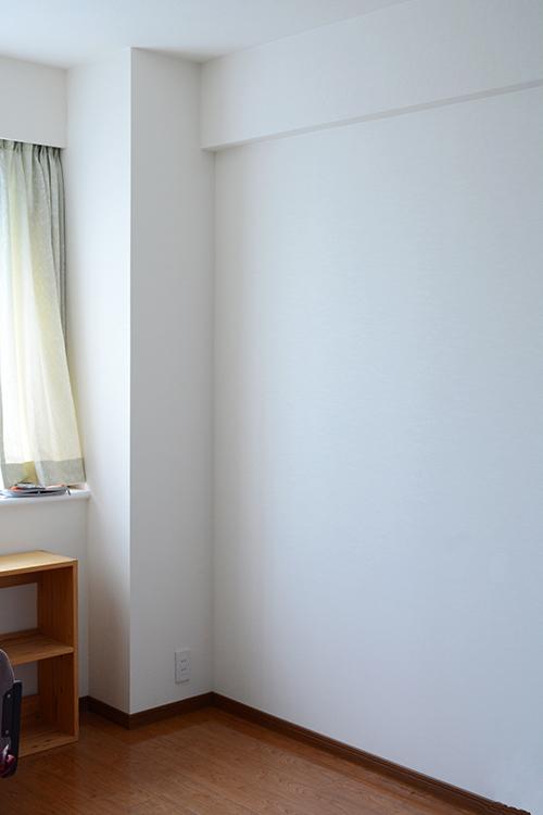 ひのき無垢 壁面書棚1