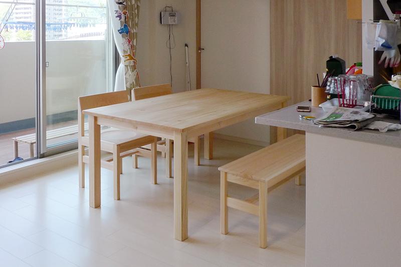 ダイニングテーブル納品事例1