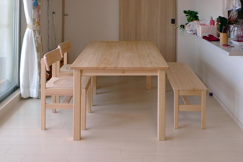 ダイニングテーブル納品事例2