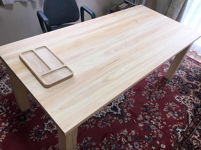 ひのき無垢 Nテーブル2