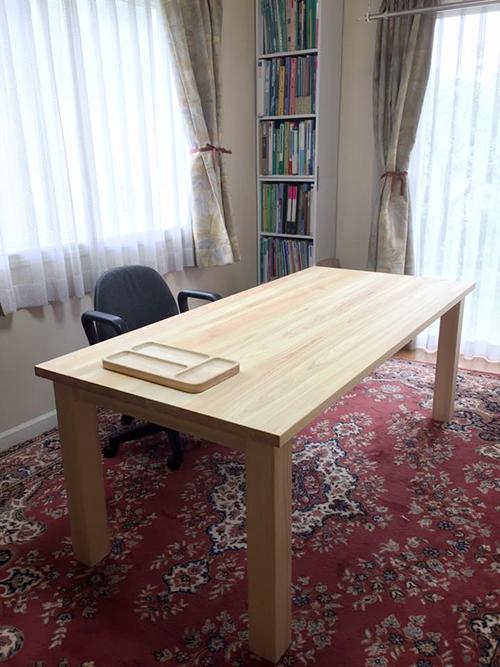 ひのき無垢 Nテーブル1