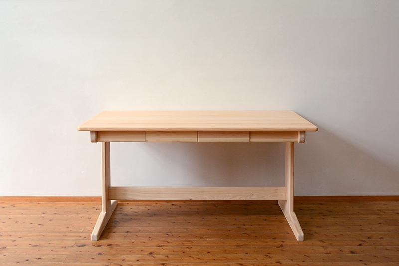 ひのき無垢 Bテーブル2