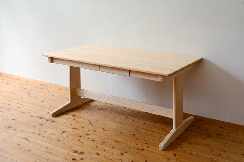 ひのき無垢 Bテーブル5