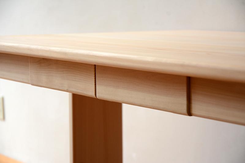 ひのき無垢 Bテーブル3