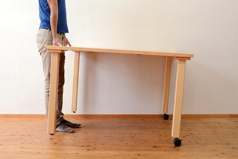 ひのき無垢 テーブル4