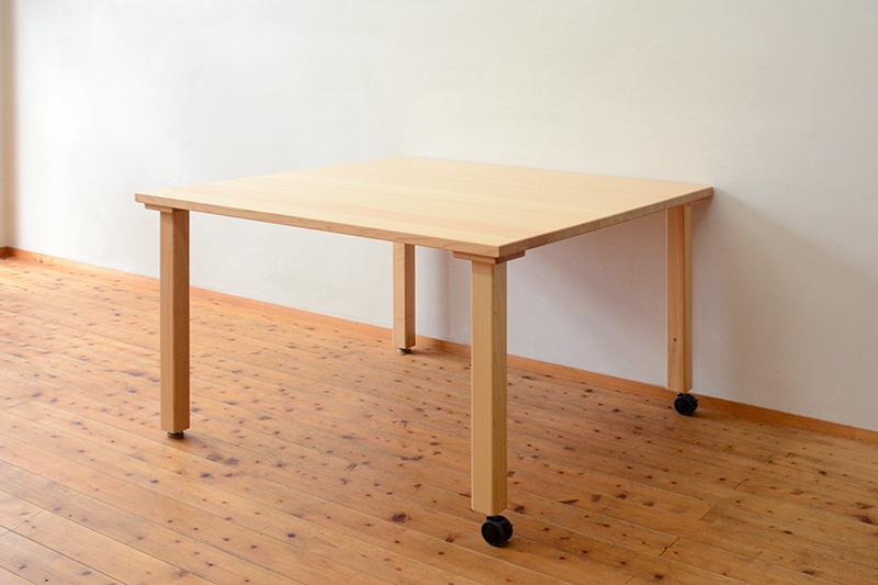 ひのき無垢 テーブル6