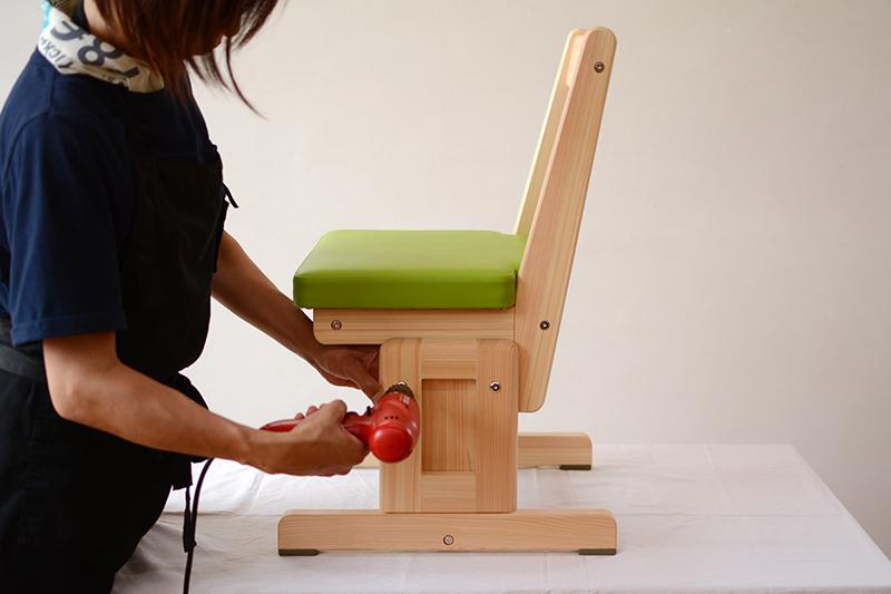 ひのき無垢 組立式家具3