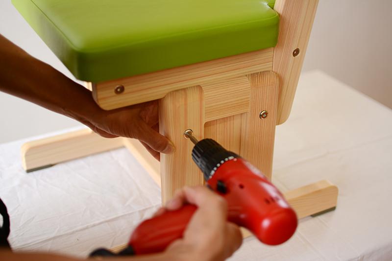 ひのき無垢 組立式家具4