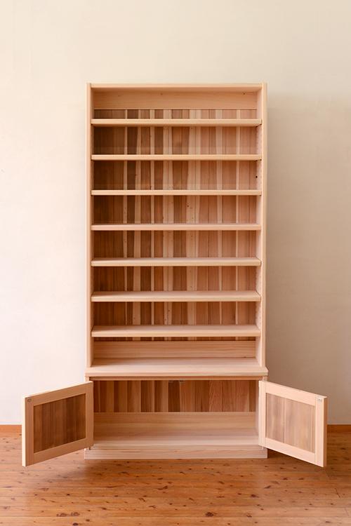 ひのきと杉の本棚4