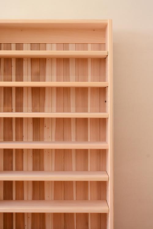 ひのきと杉の本棚2