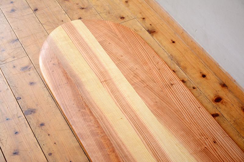 アライア 木製 サーフボード6