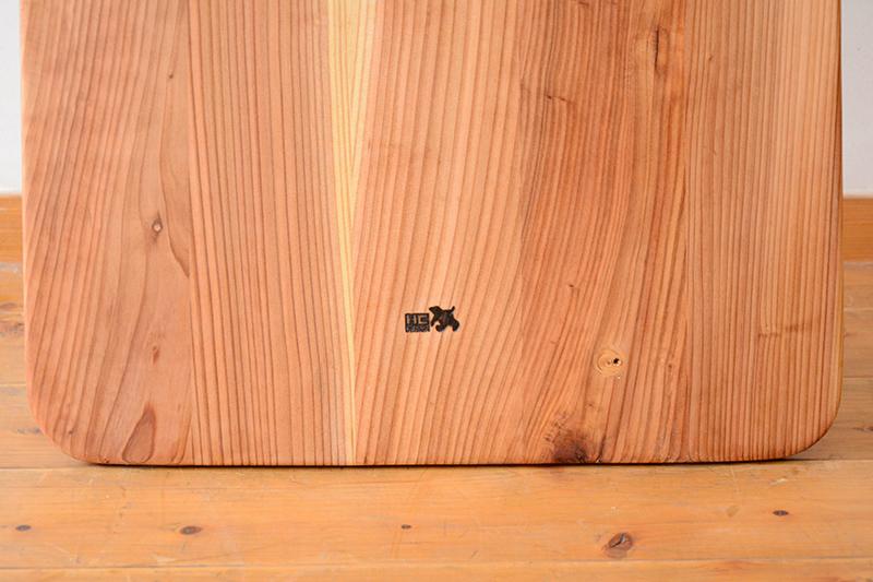 アライア 木製 サーフボード3