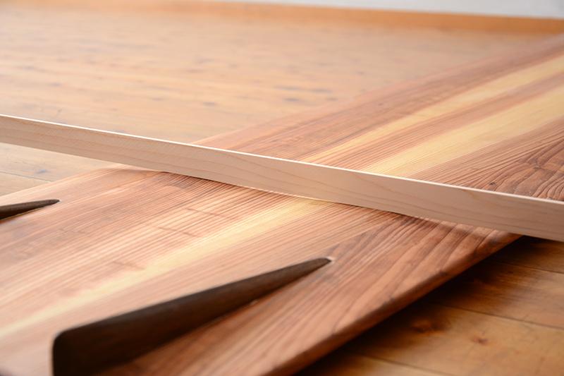 アライア 木製 サーフボード10