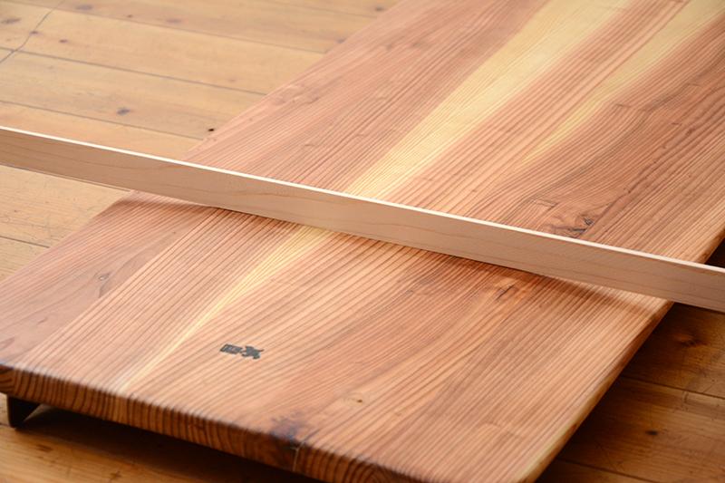 アライア 木製 サーフボード9