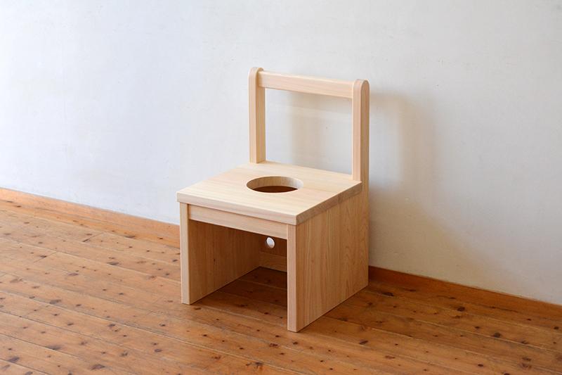 ひのき無垢 よもぎ蒸し椅子2