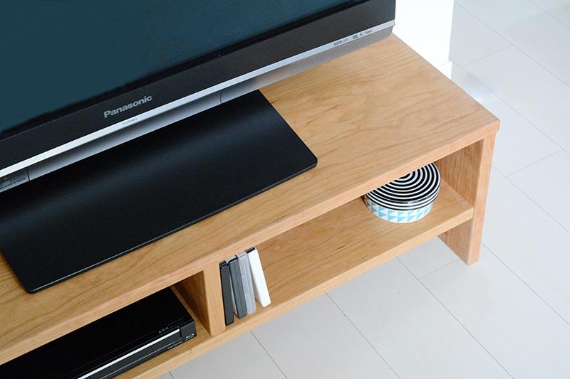 ウォールナット チェリー ヒノキ テレビボード11