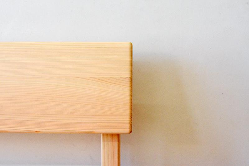 ひのき無垢 板座ソファ3
