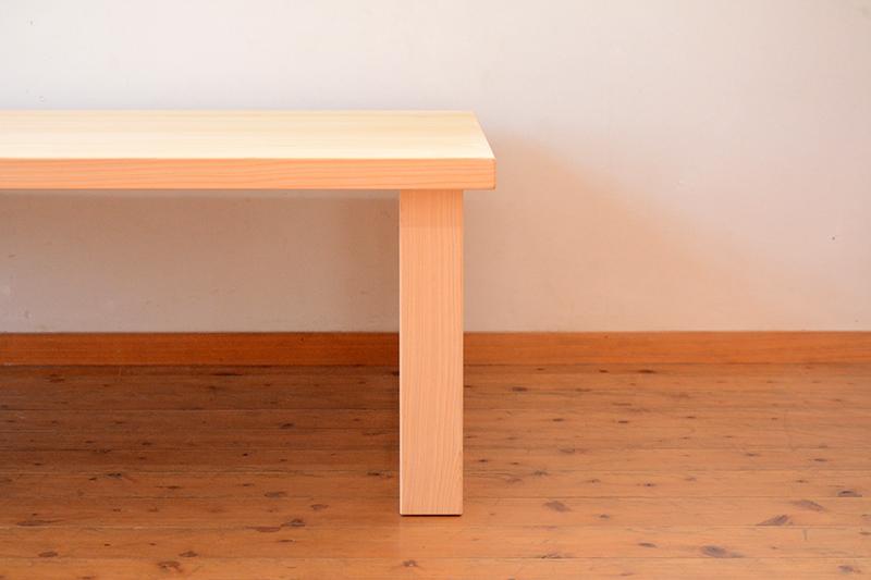 ひのき無垢 掘りごたつテーブル